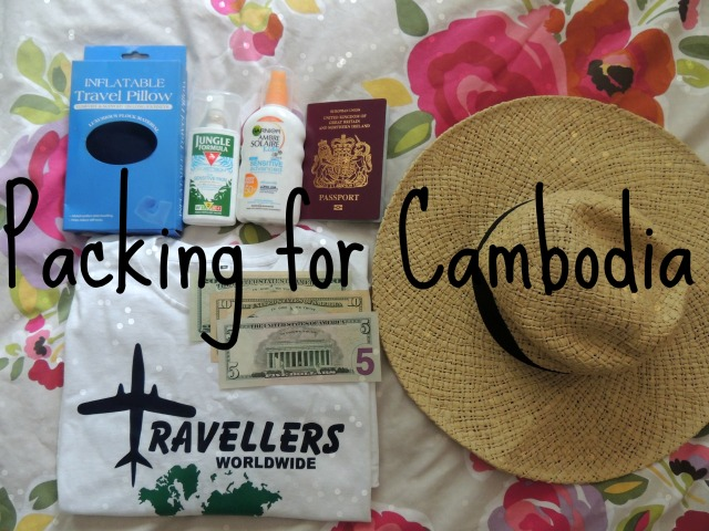 Packing for Cambodia