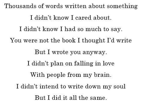 To my book