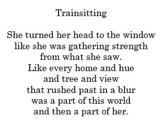 trainsitting